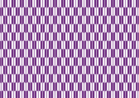 goodluck: Yagasuri pattern purple Illustration