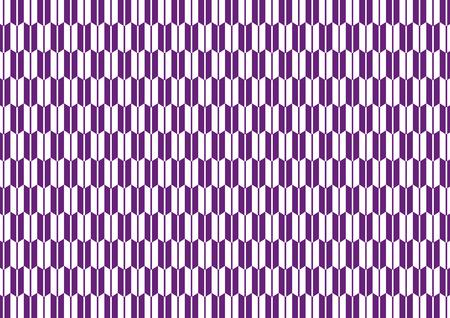 goodluck: Yagasuri pattern purple Illustration