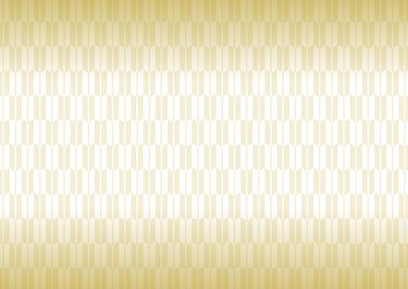 goodluck: Yagasuri pattern gold