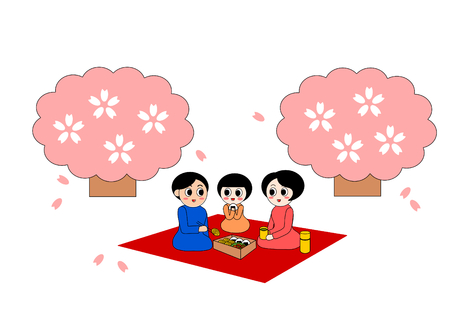 お花見ピクニック