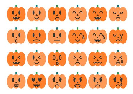 chronicle: Illustration of the Halloween pumpkin Illustration