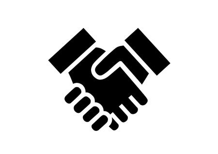 Illustration de serrer la main
