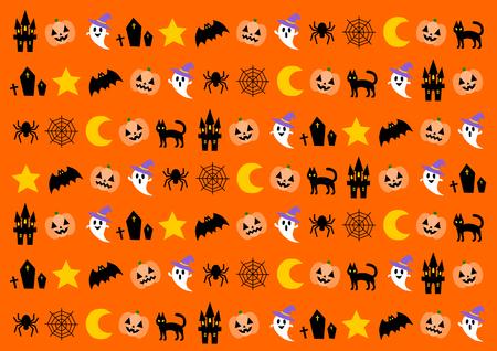 haunt: Background illustration of the Halloween