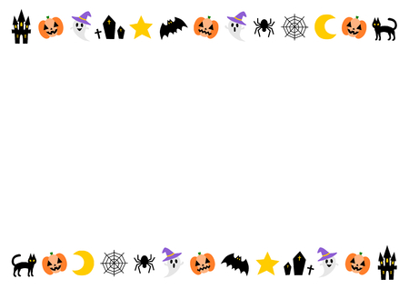 Frame of the Happy Halloween