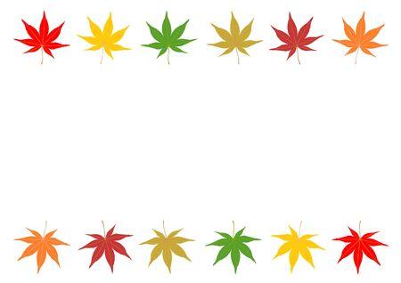 fodder: Frame of japanese maple Illustration