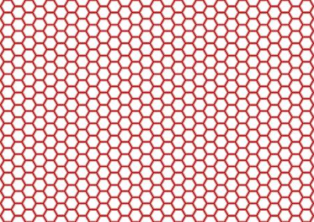 Kikko Traditional pattern of Japan (Hexagonal pattern) Illustration
