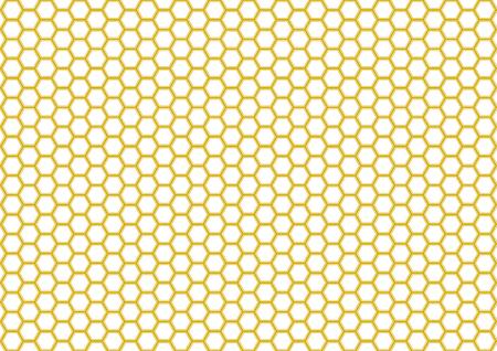 wu: Kikk Traditional pattern of Japan (Hexagonal pattern) Illustration