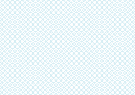 Shippo Traditional pattern of Japan pale blue