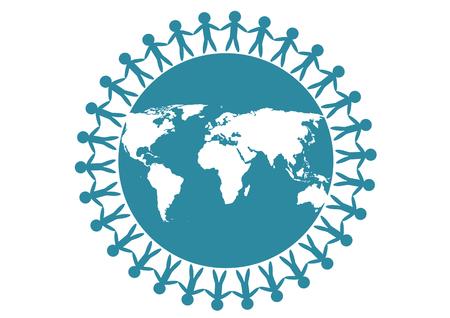 relaciones humanas: La gente y la tierra