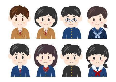 Illustration of students Illustration