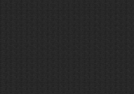 Samekomon Traditional pattern of Japan (Black background) Illustration