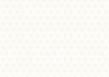 Hemp-leaf geometric pattern