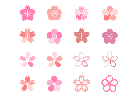 Icon of cherry blossom