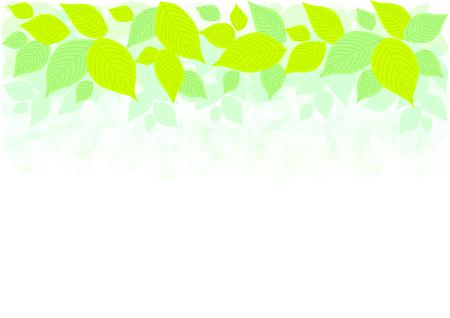 greening nature natural: Illustration of leaves Illustration