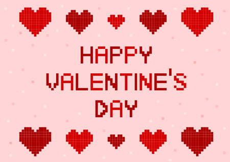 Illustration of Valentine's Day (Heart) Illustration