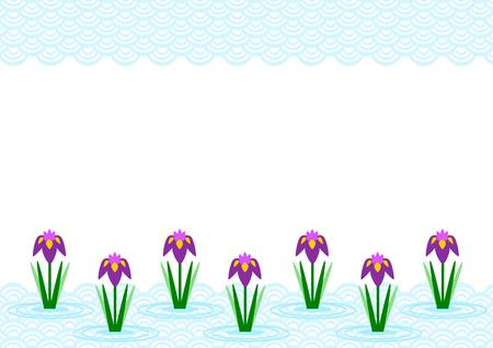 wallpape: Illustration of iris