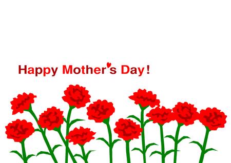 gratitude: Illustration of Mothers Day