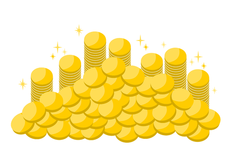Illustration of coins