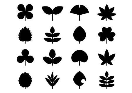 Ícone de folhas