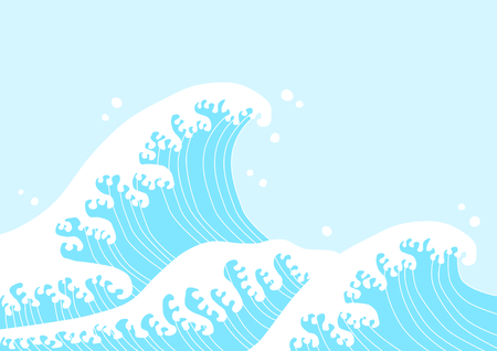 swell: Japanese-style wave