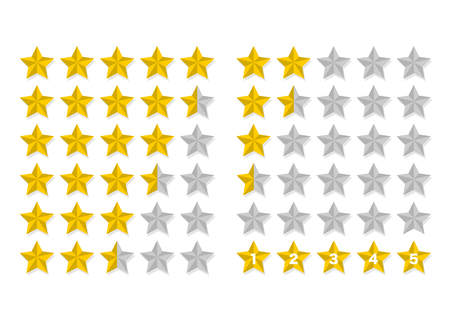 rating: Illustration of Ranking (Star)