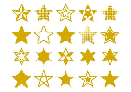 Illustration of star (gold)