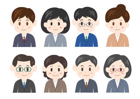 Ilustración de empresario