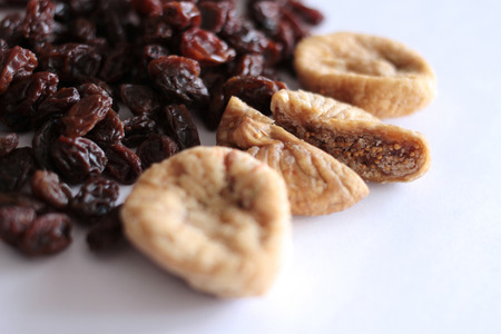 Raisins and dried figs
