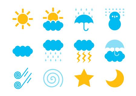 Logo of weather (Weather mark)