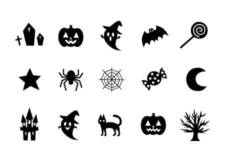 dressing up party: Illustration of Halloween (icon) Illustration