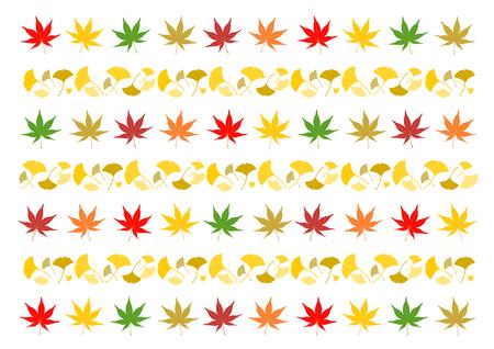 Illustration of autumn leaves Illustration