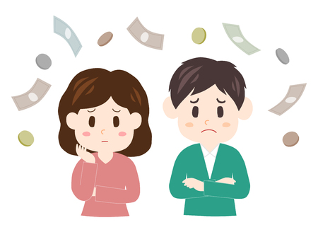 apprehension: Worry about money (couple)