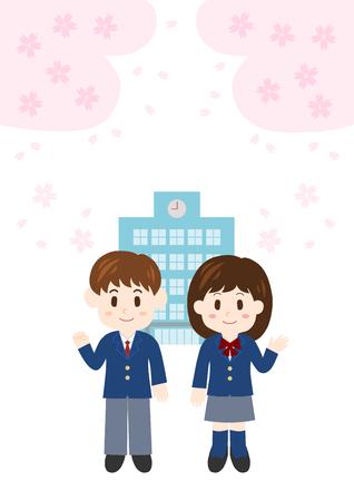 Illustration of student Illustration
