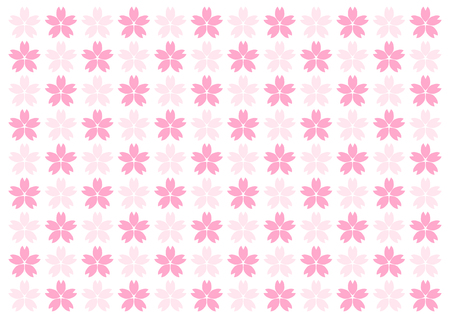 Background illustration of cherry blossoms Imagens - 97068804