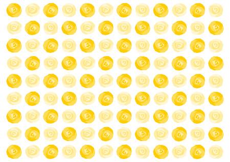 Background illustration of yellow rose
