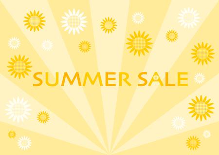 Illustration of Summer Sale