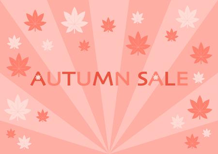 Illustration of Autumn Sale Illustration