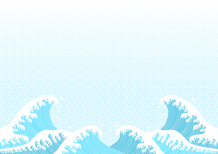 Wave and pattern