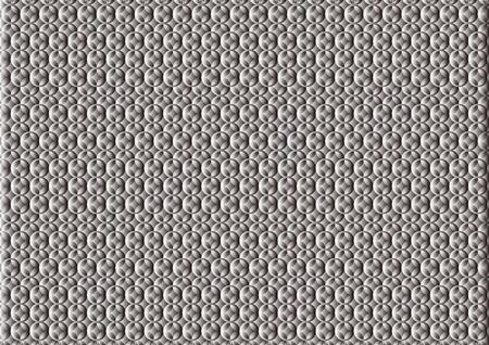 Running pattern: Black gradation Illustration