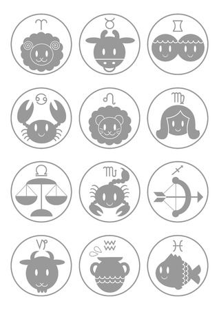 Illustration of zodiac sign