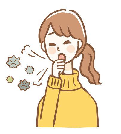 Illustration of virus splash infection
