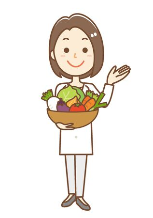 Image of a nutritionist woman
