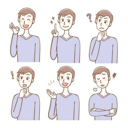 Male expression variation