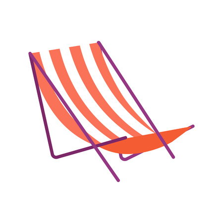 Vector Illustration. The chaise for relaxing