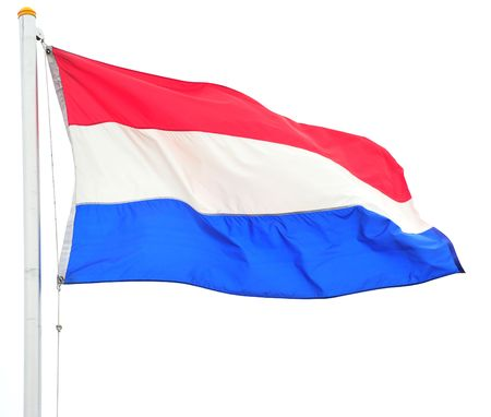 the netherlands: Flag of the netherlands.