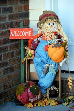 Halloween celebration outside  Stock Photo