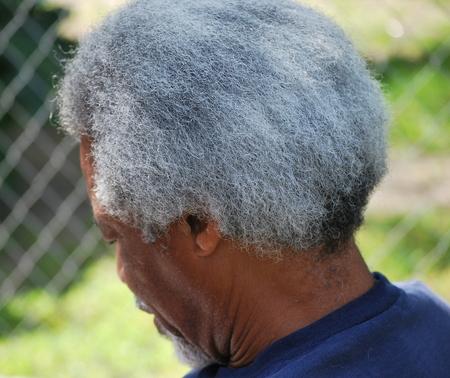 Expressions masculines afro-américaines à l'extérieur. Banque d'images - 38928395