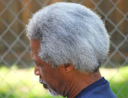African american male expressions outside. Imagens
