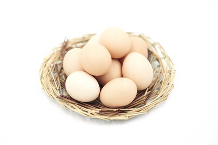 white eggs: Egg Stock Photo