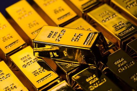 golden bricks Imagens